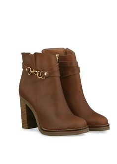 Laverne - Boots in up to 21 calf sizes, shoes & ankle boots in 3 widths. Fall Shoes, Summer Shoes, Shoes Heels Boots, Heeled Boots, Tan Leather Ankle Boots, Shoes World, Block Heel Boots, Cute Boots, Designer Heels