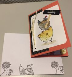 Hey, chick!, Stampin' Up! - Sale-a-bration 2017 - birthday card