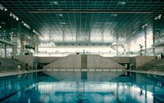 Olympic Swimming Pool of Montpellier, France  --  Ricardo Bofill Taller de Arquitectura  --