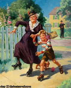 Me veré así patinando con mis hijos ?'