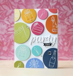 My Monthly Hero December 2016 Kit Great idea for all those little birthday-related stamps!