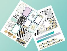 Hello, lovelies! I have a free download that I'm quite fond of today.My Kate Spade stickers!