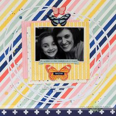 Always Believe Scrapbook Page by Juliana Michaels featuring a FREE 17turtles Digital Cut File and the BoBunny Sweet Life Collecttion