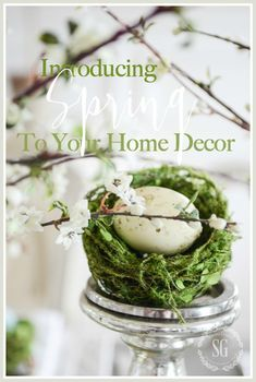 INTRODUCING SPRING TO YOUR HOME DECOR - StoneGable