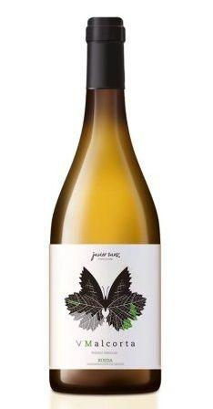 Botella de V Malcorta Verdejo de Javier Sanz
