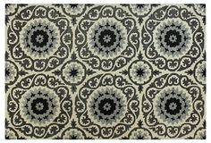 One Kings Lane - Rug Refresh - Kurstin Rug, Ivory/Gray