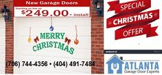 Christmas Special Offer:New #GarageDoor Offer Starting as Low as $249