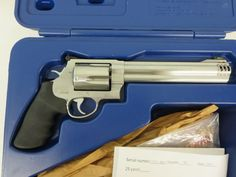On Consignment:  Smith & Wesson 460 XVR .460S&W w/ case $1095 - http://www.gungrove.com/on-consignment-smith-wesson-460-xvr-460sw-w-case-1095/