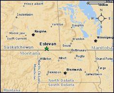 Estevan, where Jessie plays AAA (pic from JLs Bike & Skate in Estevan).