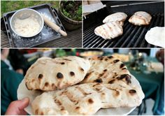 From Brown Bread To Flatbread In 6 Years!    Blog post by Genie Cooks