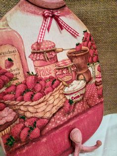 My little craft room Decoupage, Birthday Cake, Crafts, Handmade, Manualidades, Birthday Cakes, Craft, Handmade Crafts, Diy Crafts