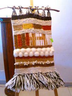 Mi primer telar decorativo.