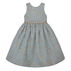 Keep the little one in your life looking and feeling like a princess thanks to this a-line dress boasting a design fit for polyesterMachine washImported Girls Dresses, Summer Dresses, Blue Gold, Line, Couture, That Look, Party Dress, Bridal, Princess