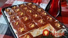 mazedonisches essen Tieto pudingov kocky so ahakou mu konkurova tm najlepm zkuskom: NESKUTON chu! - Recepty od babky Tieto pudingov kocky so ahakou mu konkurova Baking Recipes, Cake Recipes, Dessert Recipes, Macedonian Food, Kolaci I Torte, Torte Cake, Fudge Cake, Croatian Recipes, Baking Cupcakes