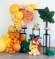 "58 curtidas, 3 comentários - Dina Wahhab (@ladeedaevents) no Instagram: ""💛🧡 Oh I Just Can't Wait to be Three' 🧡💛 Set up styling stationary @ladeedaevents Props…"""
