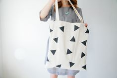 Custom printed fabric makes this tote one of a kind! Perfect for a book bag, purse, overnight bag, ect.