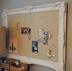 How to make an ornate pinboard :-) I want to make one
