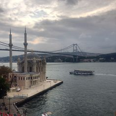 View from The House a Hotel Bosphorus Penthouse Istanbul, House, Travel, Haus, Viajes, Traveling, Homes, Tourism, Outdoor Travel