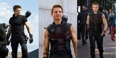 I am soo obsessed with Agent Barton/Hawkeye.. those arms are amazing <3