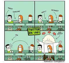 Twitter Circa 1991