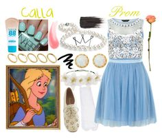 """Princess Calla From Adventures Of The Gummi Bears (Prom Look)"" by kendrick-june ❤ liked on Polyvore featuring Yves Saint Laurent, Blue Nile, Monsoon, Dorothy Perkins, ASOS, NARS Cosmetics, Avon, Clips, Maybelline and fans"