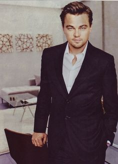 Leonardo Di Caprio. I've been obsessed with him lately..maybe because he's such a good actor!!