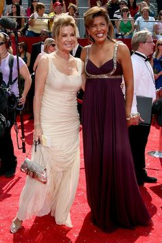 TV host/actress Kathie Lee Gifford (L) and guest arrive at the 60th Primetime Emmy Awards held at Nokia Theatre on September 21, 2008 in Los Angeles, California.