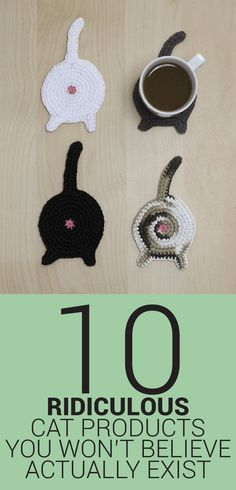 10 Ridiculous Cat Products You Won't Believe Actually Exist!