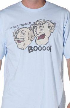 Muppets Statler & Waldorf T-Shirt: Muppets Mens T-shirt
