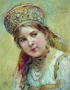 Boyaryshnya - Konstantin Makovsky