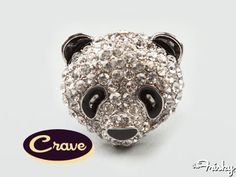 i like pandas. i like rings. i like things that sparkle.