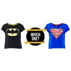 BATMAN or SUPERMAN?