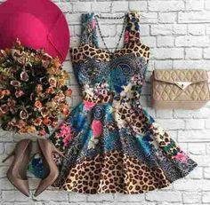 Vestido Neoprene Lindo - R$ 75,00 no MercadoLivre