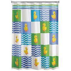 Rubber Duck Shower Curtain (Duck Stops Here)   beaner stuff ...