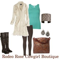 """Winter Shopping Day"" by rodeorosecowgirlboutique on Polyvore"