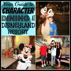 Your Guide to Character Dining at the #Disneyland Resort #Disney