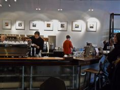 Intelligentsia. I have been dying to take Tony here. I cannot wait to let him nerd out.