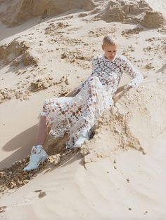 Saskia de Brauw by Harley Weir for Vogue UK November 2015 | The Fashionography