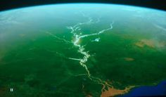 The Amazon River seen from the space. - Αναζήτηση Google