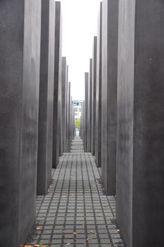 Holocaust Memorial in Berlin via: Behind The Lens Lukey #berlin