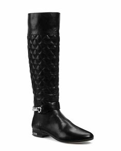 Michael Kors Ramsey Quilted Leather Boot.