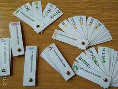 Produkt - Vějířky - vyjmenovaná slova Wands, Learning, School, Funny, Ha Ha, Study, Chopsticks, Teaching, Studying