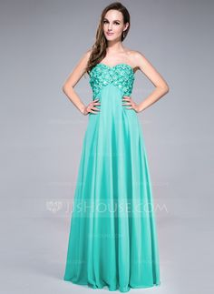 Prom Dresses - $139.99 - Empire Sweetheart Floor-Length Chiffon Prom Dress With Beading Flower(s) Sequins (018042690) http://jjshouse.com/Empire-Sweetheart-Floor-Length-Chiffon-Prom-Dress-With-Beading-Flower-S-Sequins-018042690-g42690?no_banner=1&utm_source=facebook&utm_medium=post&utm_campaign=6005941673279&utm_content=140413_29