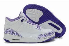 http://www.jordanaj.com/inexpensive-cemenst-cemenst-air-jordan-3-iii-retro-white-purple-womens-shoes.html INEXPENSIVE CEMENST CEMENST AIR JORDAN 3 III RETRO WHITE PURPLE WOMENS SHOES Only $93.00 , Free Shipping!