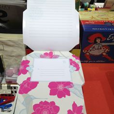 Envelope cards, just fold and tape or glue.
