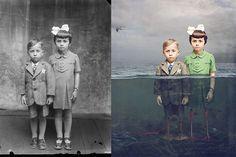 Jane dá cor e vida a fotos a preto e branco | P3