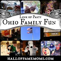 Ohio Family Fun Link up Party - #OhioFamilyfun #Ohio things to do