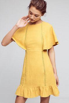 Fluttered & Flounced Dress | Anthropologie