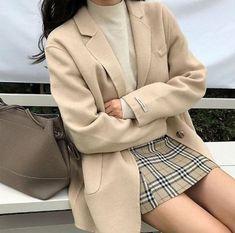 Korean Street Fashion, Korean Girl Fashion, Korean Fashion Trends, Korea Fashion, Trendy Fashion, Fashion Models, Fashion Outfits, Style Fashion, Kawaii Fashion