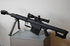 Barrett XM109 sniper rifle, this is made for the zombie apocalypse